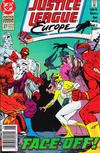 Cover for Justice League Europe (DC, 1989 series) #27 [Newsstand]