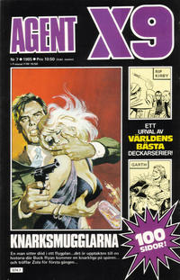 Cover Thumbnail for Agent X9 (Semic, 1971 series) #7/1985