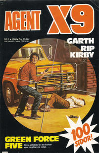 Cover Thumbnail for Agent X9 (Semic, 1971 series) #1/1986