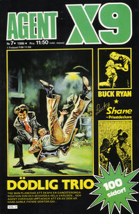 Cover Thumbnail for Agent X9 (Semic, 1971 series) #7/1986