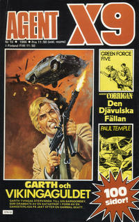 Cover Thumbnail for Agent X9 (Semic, 1971 series) #10/1986
