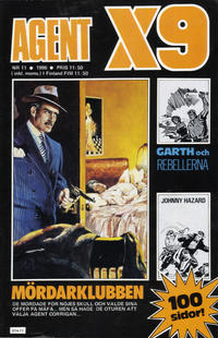 Cover Thumbnail for Agent X9 (Semic, 1971 series) #11/1986