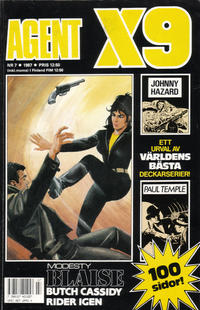 Cover Thumbnail for Agent X9 (Semic, 1971 series) #7/1987