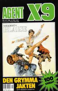 Cover Thumbnail for Agent X9 (Semic, 1971 series) #12/1987