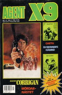 Cover Thumbnail for Agent X9 (Semic, 1971 series) #3/1989