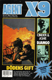 Cover Thumbnail for Agent X9 (Semic, 1971 series) #12/1988