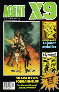Cover Thumbnail for Agent X9 (Semic, 1971 series) #13/1988