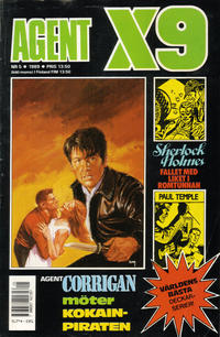 Cover Thumbnail for Agent X9 (Semic, 1971 series) #5/1989