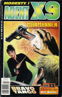 Cover Thumbnail for Agent X9 (Semic, 1971 series) #10/1996