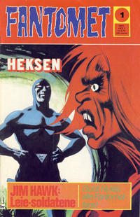 Cover Thumbnail for Fantomet (Semic, 1976 series) #1/1977