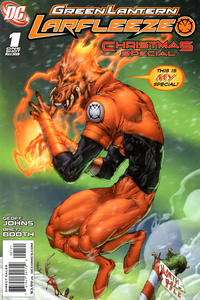 Cover Thumbnail for Green Lantern: Larfleeze Christmas Special (DC, 2011 series) #1 [Cover B]