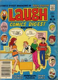 Cover Thumbnail for Laugh Comics Digest (Archie, 1974 series) #28