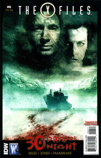 Cover Thumbnail for The X-Files / 30 Days of Night (DC, 2010 series) #6