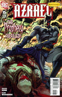 Cover Thumbnail for Azrael (DC, 2009 series) #15