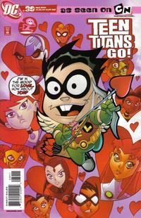 Cover Thumbnail for Teen Titans Go! (DC, 2004 series) #39