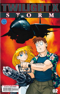 Cover Thumbnail for Twilight X: Storm (Antarctic Press, 2003 series) #2