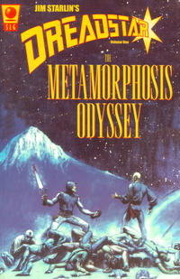 Cover Thumbnail for Dreadstar (Slave Labor, 2000 series) #1 - The Metamorphosis Odyssey