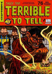 Cover Thumbnail for Tales Too Terrible to Tell (New England Comics, 1989 series) #1 [Second Printing]