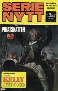 Cover Thumbnail for Serie-nytt [delas?] (Semic, 1970 series) #21/1977