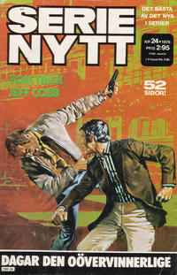Cover Thumbnail for Serie-nytt [delas?] (Semic, 1970 series) #24/1976