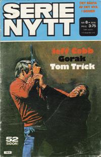 Cover Thumbnail for Serie-nytt [delas?] (Semic, 1970 series) #8/1978