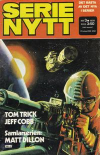 Cover Thumbnail for Serie-nytt [delas?] (Semic, 1970 series) #3/1978