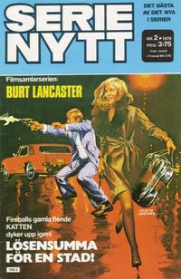 Cover Thumbnail for Serie-nytt [delas?] (Semic, 1970 series) #2/1979