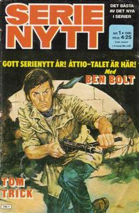 Cover Thumbnail for Serie-nytt [delas?] (Semic, 1970 series) #1/1980