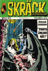 Cover Thumbnail for Skräckmagasinet (Williams Förlags AB, 1972 series) #1/1973