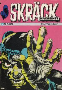 Cover Thumbnail for Skräckmagasinet (Williams Förlags AB, 1972 series) #3/1975