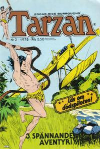 Cover Thumbnail for Tarzan (Atlantic Förlags AB, 1977 series) #2/1978
