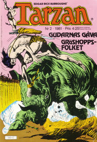 Cover Thumbnail for Tarzan (Atlantic Förlags AB, 1977 series) #2/1981