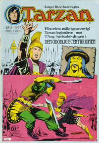 Cover Thumbnail for Tarzan (Atlantic Förlags AB, 1977 series) #5/1977