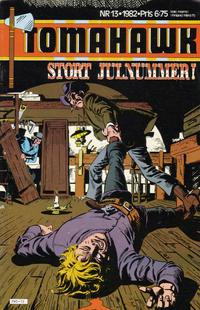 Cover Thumbnail for Tomahawk (Semic, 1982 series) #13/1982