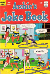 Cover Thumbnail for Archie's Joke Book Magazine (Archie, 1953 series) #108