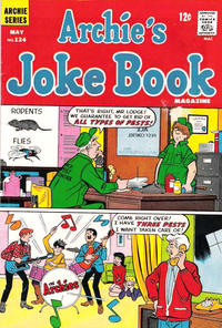 Cover Thumbnail for Archie's Joke Book Magazine (Archie, 1953 series) #124