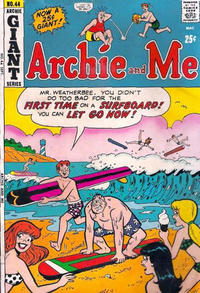 Cover Thumbnail for Archie and Me (Archie, 1964 series) #44