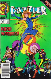 Cover for Dazzler (Marvel, 1981 series) #40 [Direct Edition]