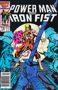 Cover Thumbnail for Power Man and Iron Fist (Marvel, 1981 series) #124 [newsstand]