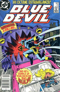 Cover Thumbnail for Blue Devil (DC, 1984 series) #21 [Canadian Newsstand]