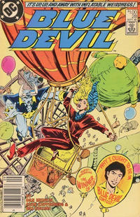 Cover Thumbnail for Blue Devil (DC, 1984 series) #28 [Canadian Newsstand]