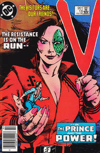 Cover Thumbnail for V (DC, 1985 series) #13 [Canadian Newsstand]