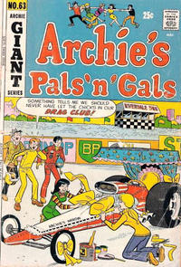 Cover Thumbnail for Archie's Pals 'n' Gals (Archie, 1952 series) #63