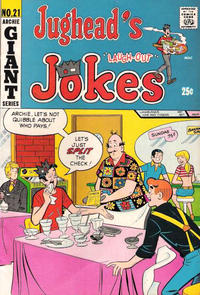 Cover Thumbnail for Jughead's Jokes (Archie, 1967 series) #21