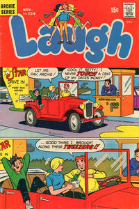 Cover Thumbnail for Laugh Comics (Archie, 1946 series) #224