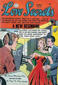 Cover Thumbnail for Love Secrets (Quality Comics, 1953 series) #43