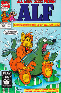 Cover Thumbnail for ALF (Marvel, 1988 series) #48 [Direct Edition]