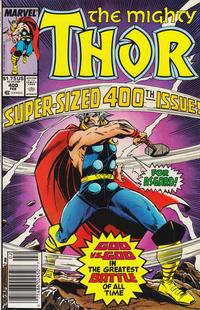 Cover Thumbnail for Thor (Marvel, 1966 series) #400 [Newsstand]