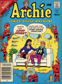 Cover Thumbnail for Archie Comics Digest (Archie, 1973 series) #63
