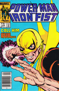 Cover for Power Man and Iron Fist (Marvel, 1981 series) #119 [Canadian newsstand 75¢ edition]